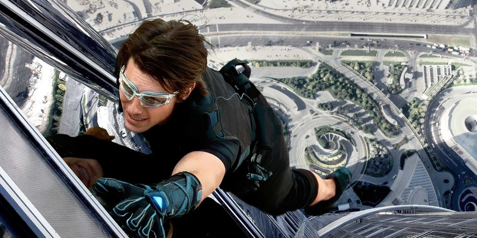 "Tom Cruise w filmie ""Mission: Impossible: Ghost Protocol"""