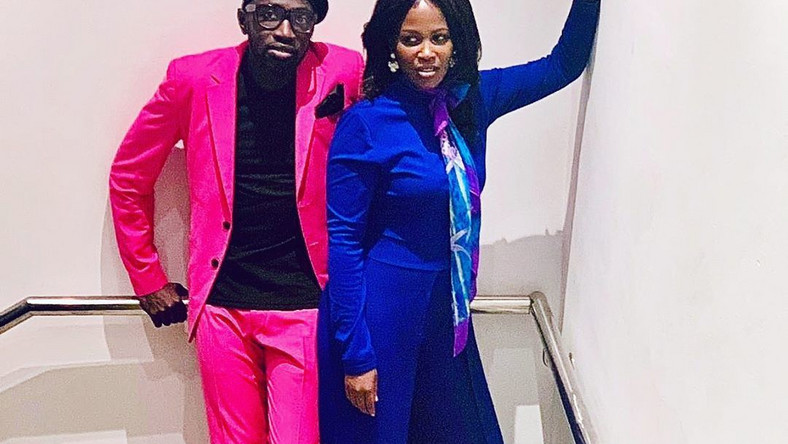 Sauti Sol's Polycarp and wife Lady Mandy announce pregnancy (Photo)