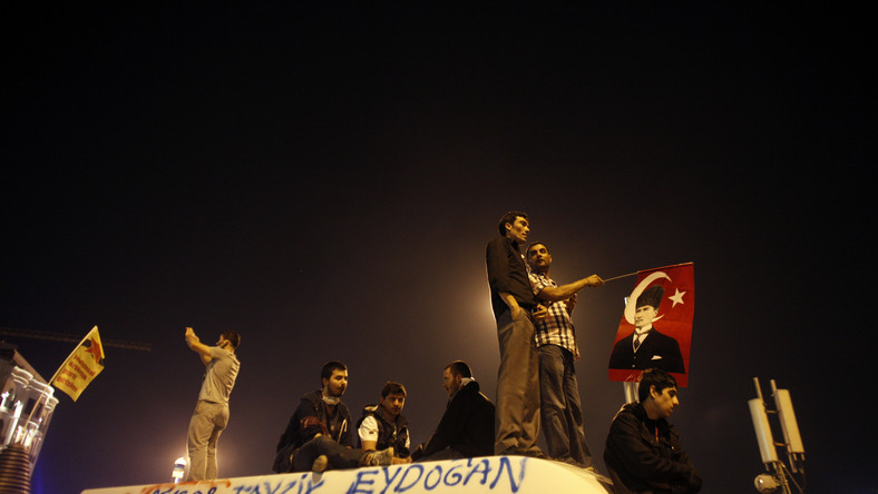 Protesty wTurcji