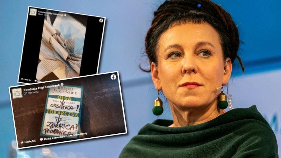 Fundacja Olgi Tokarczuk publikuje zdjęcia odesłanych książek
