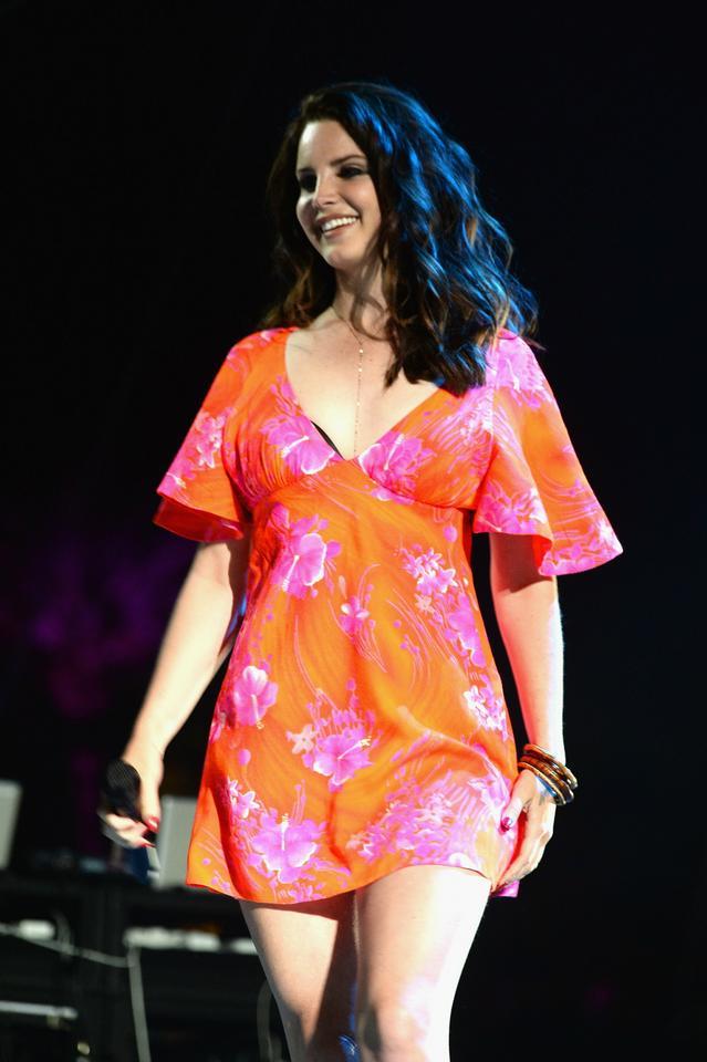 Lana Del Rey w 2014 roku