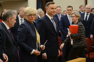 Przyłębska: Rzepliński przyznał sobie kompetencję nieznaną konstytuciji - decydowania, kto jest sędzią TK