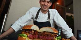 Ten burger kosztuje 3500 zł!