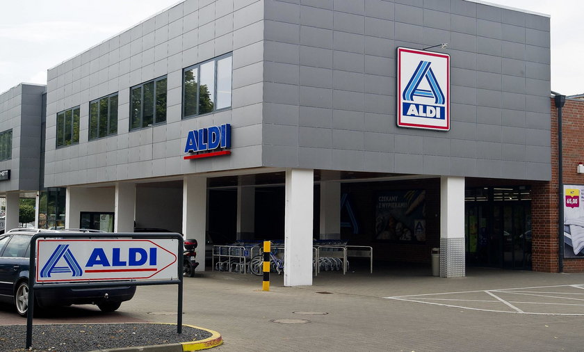 Sklep ALDI w Pile