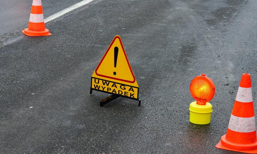 Wypadek na autostradzie A4. Płoną auta.
