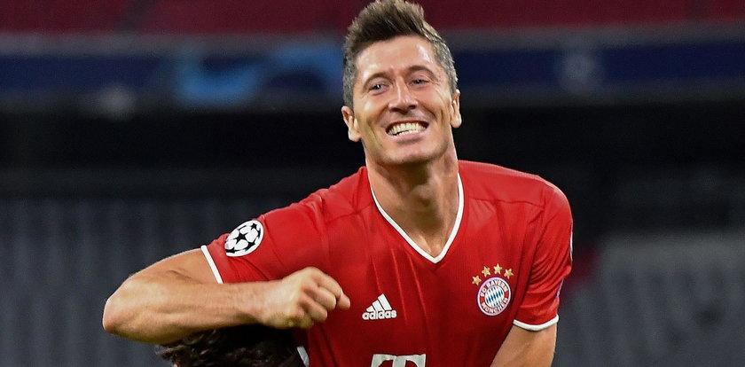 Świetna dyspozycja Lewandowskiego. Wbił trzy gole Eintrachtowi Frankfurt