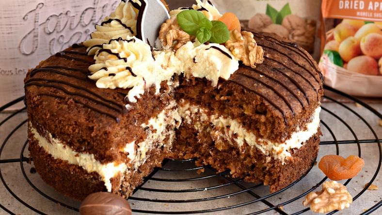 Ciasto marchewkowe z kremem twarogowym
