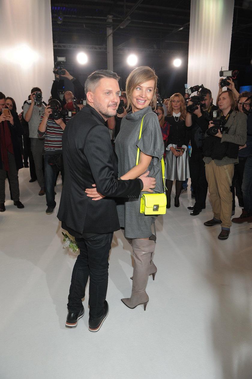 Mariusz Przybylski i Agnieszka Szulim