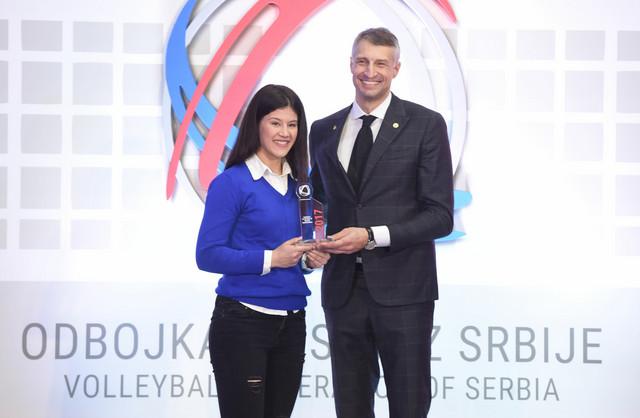 Jovana Miroslavljević, naša najbolja mlada odbojkašica