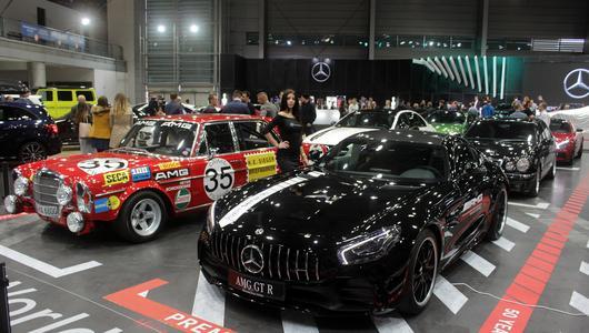 Warto zobaczyć stoisko Mercedesa na Poznań Motor Show 2017