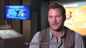 "Chris Pratt o filmie ""Jurassic World"""