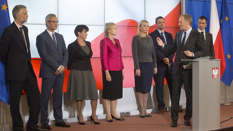 Nowi członkowie w rządzie Donalda Tuska