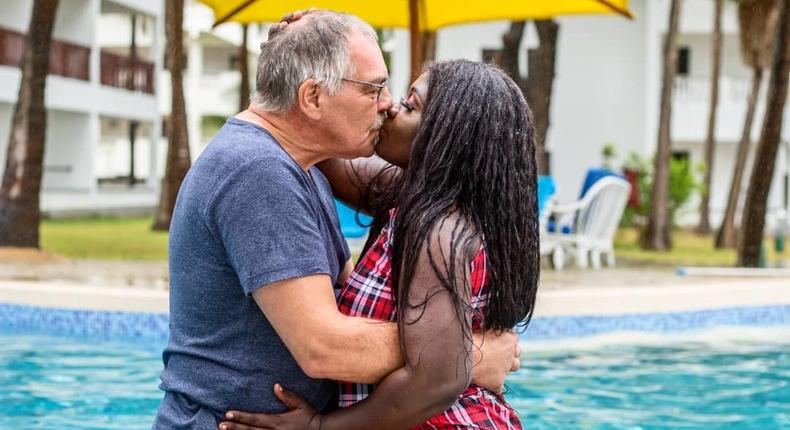 Nyota Ndogo and her Husband