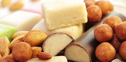 Słodkości z marcepanu