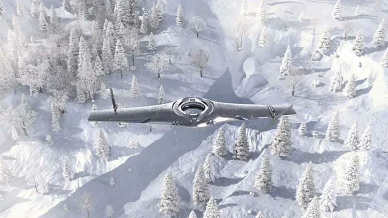 Koncepcyjny dron BAE z pionowym trybem lądowania