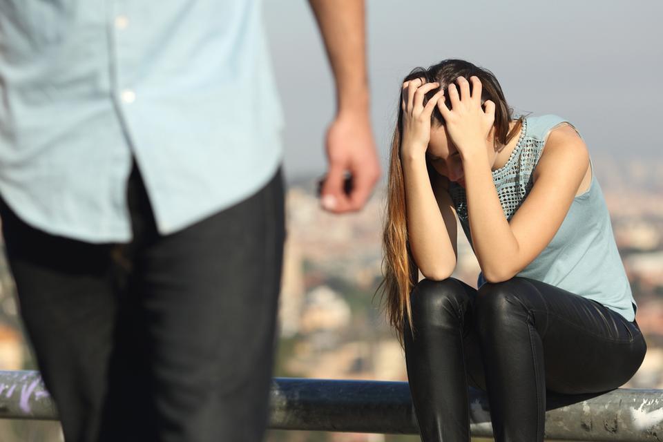 7. Niepewność związku, brak zaufania