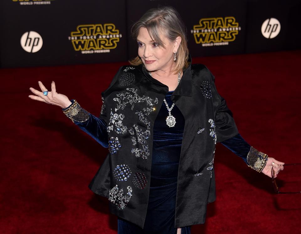 Mija rok od śmierci Carrie Fisher