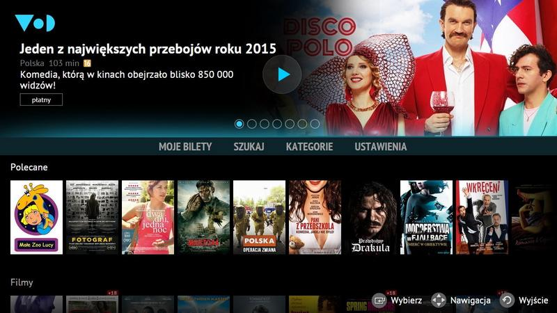 Nowa aplikacja VoD.pl na telewizory Sasung Smart TV