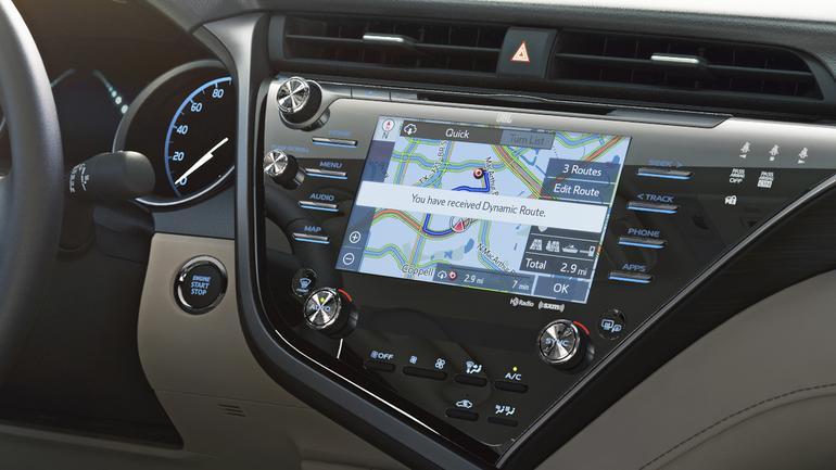 Toyota Entune 3.0 będzie samodzielnie aktualizować mapę w fabrycznej nawigacji