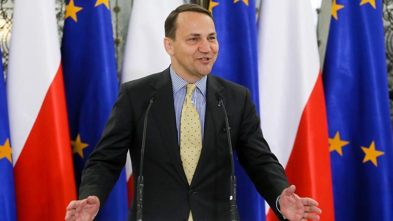 Radosław Sikorski był szefem MSZ z latach 2007-2014