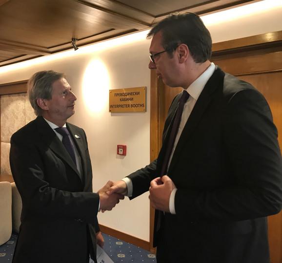 Vučić i Johanes Han