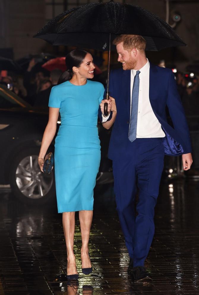 Megan i Hari prvi put na službenoj dužnosti u Londonu nakon Megzita