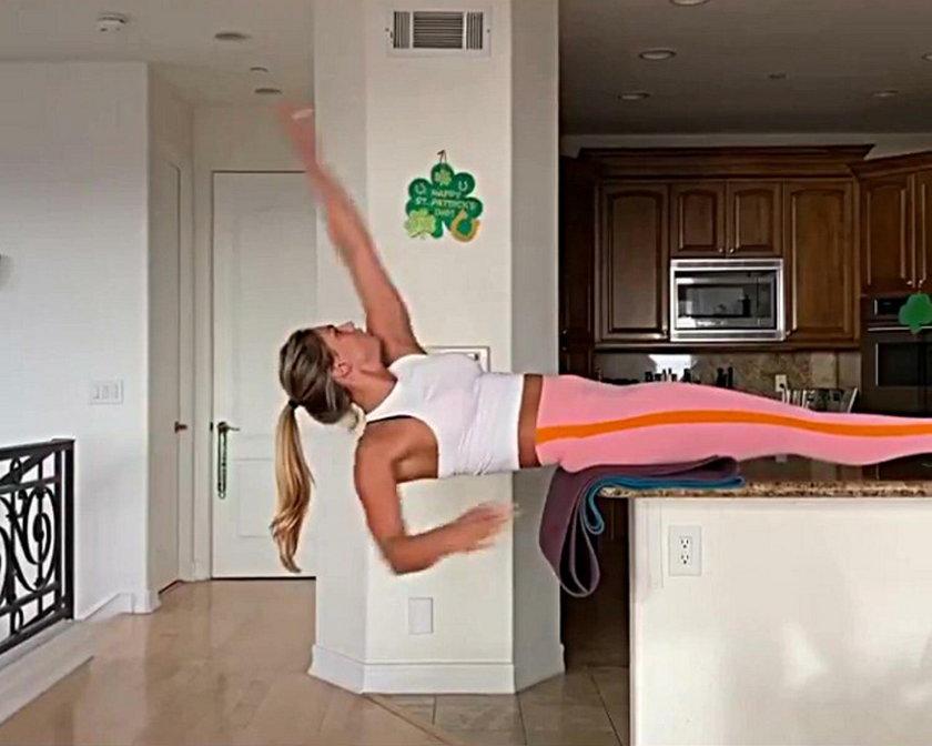 Julia Jefimowa trenuje w kuchni