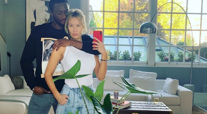 Celebrating Super Eagles players and their WAGs on Valentine's Day