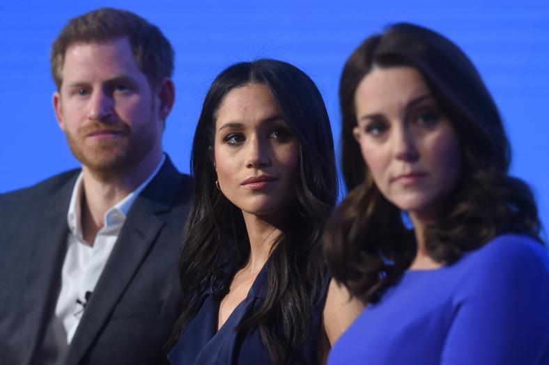 książę Harry, Meghan Markle, Kate Middleton