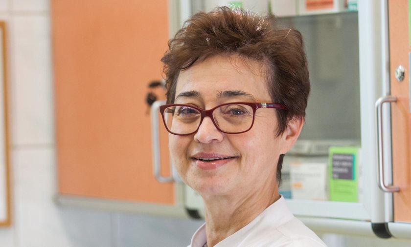 dr n. med. Barbara Radecka z Opolskiego Centrum Onkologii