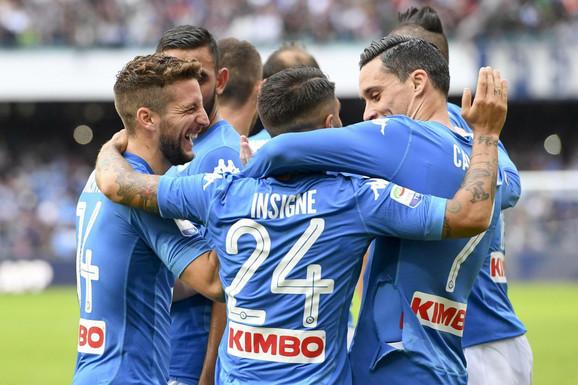 Slavlje fudbalera Napolija
