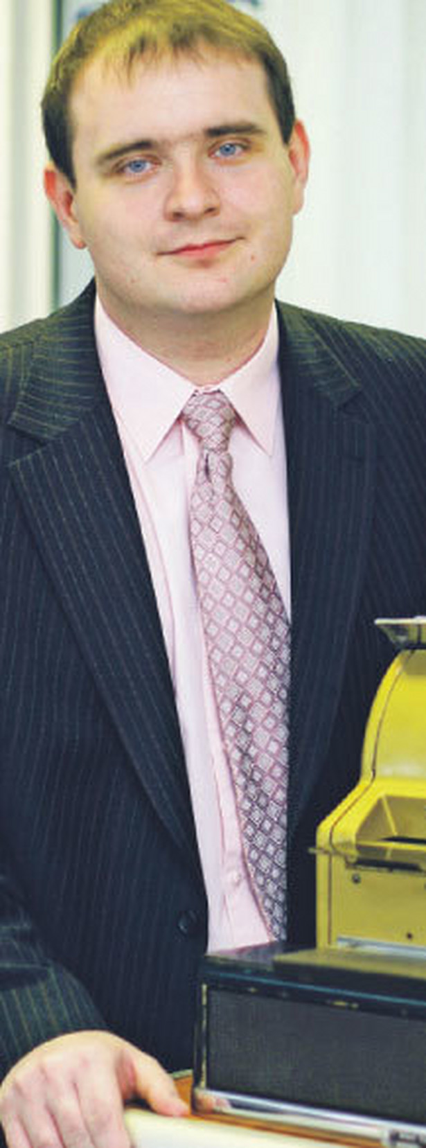 Dorian Liszcz, ekspert z firmy GMTR Fot. Marek Matusiak