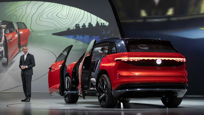 Herbert Diess, prezes Grupy Volkswagen i Volkswagen ID. ROOMZZ