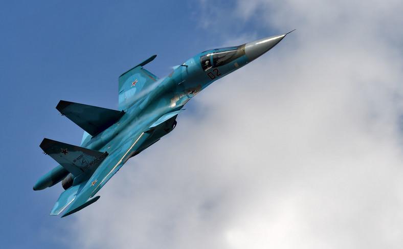 Rosyjski samolot Su-34