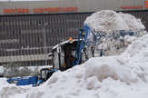 moskva aerodrom šeremetjevo, rusija sneg