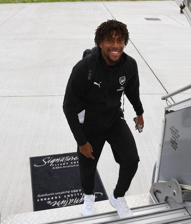 Alex Iwobi is in control of music at the Arsenal dressing room (Getty Images)
