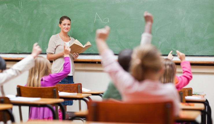 Škola, Učionica, Đaci, Učenici, Nastava