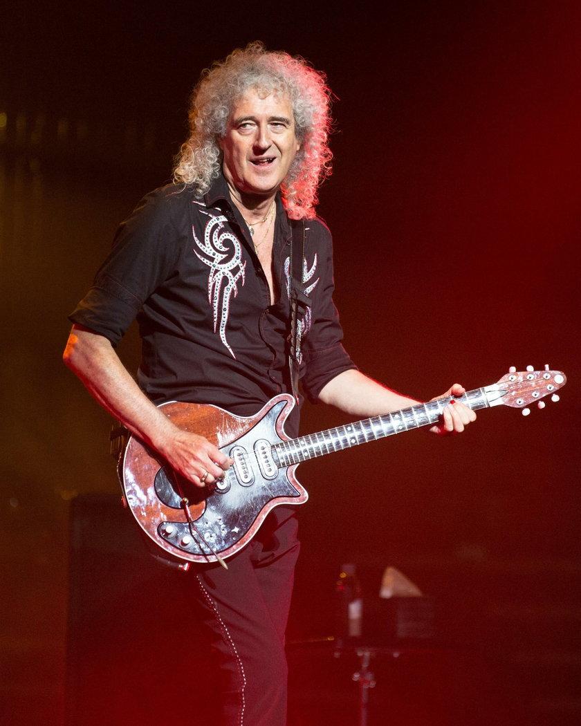 Brian May gitarzysta zespołu Queen