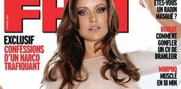 Aktorka serialowa topless. Foto