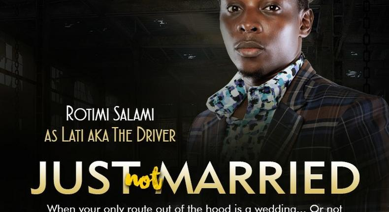 Rotimi Salami in Just Not Married