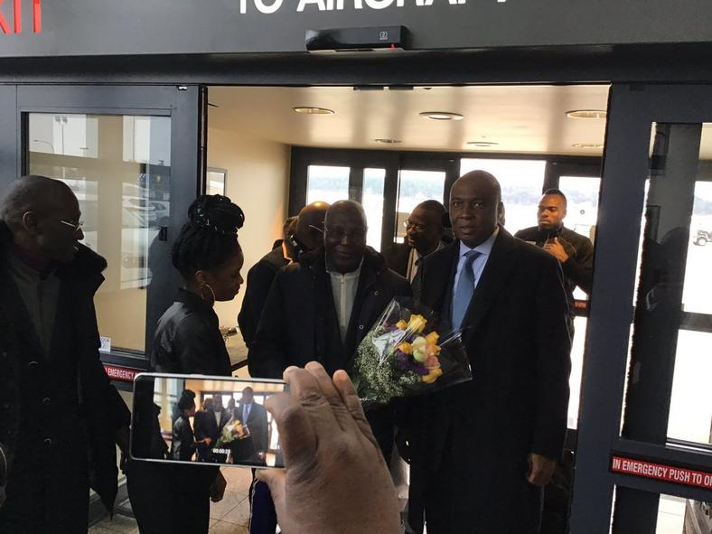 Atiku Abubakar is visiting the United States of America for the first time since reports about his travel restriction to the country being lifted came out in October 2018. [Twitter/osita_chidoka]