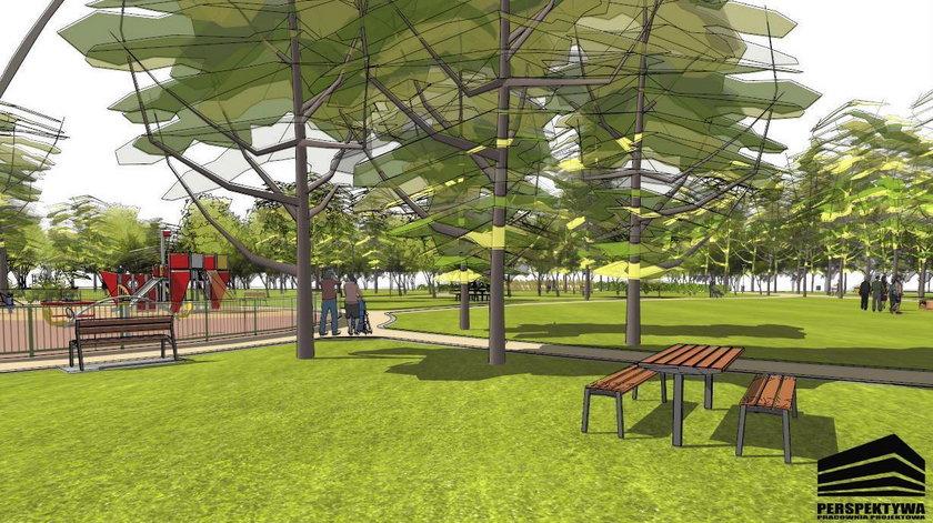Odnowią park przy Browarnej