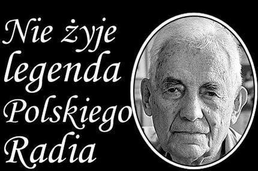 Nie żyje legenda Polskiego Radia
