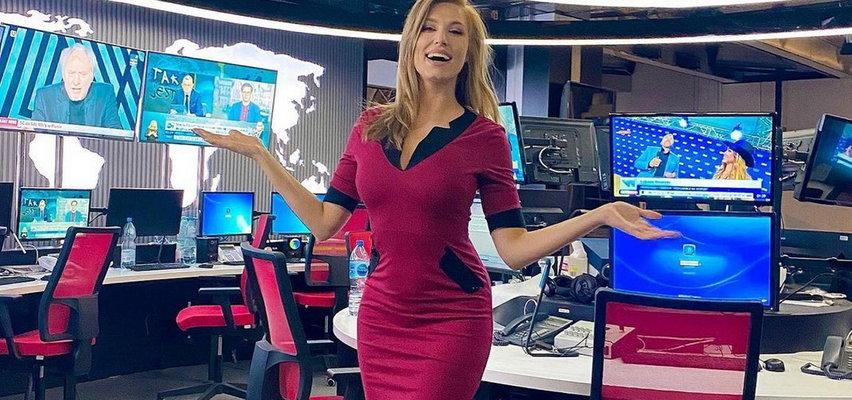 Karolina Pajączkowska w stroju plażowym ukazała się w oknie. Od gwiazdy serwisów informacyjnych TVP trudno oderwać wzrok