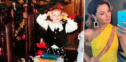 Gwiazda pokazała nam świąteczne zdjęcia z dzieciństwa. Jak kiedyś wyglądała?
