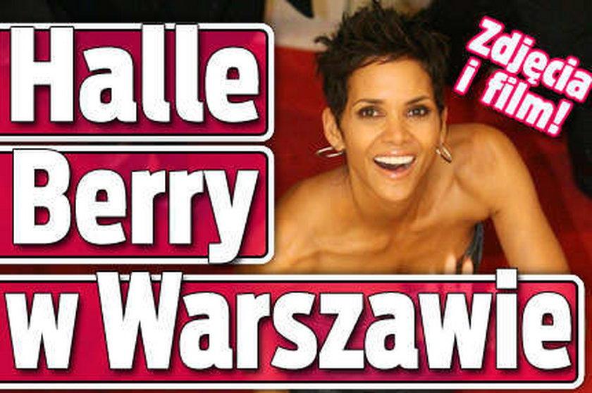 Halle Berry w Warszawie. FILM