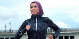 Muzułmańska sportsmenka na okładce magazynu