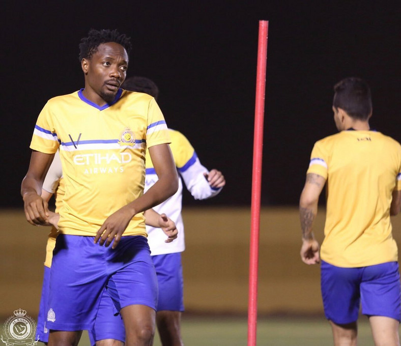 Ahmed Musa scored seven goals in the league for Al Nassr this season (Twitter/Al Nassr)