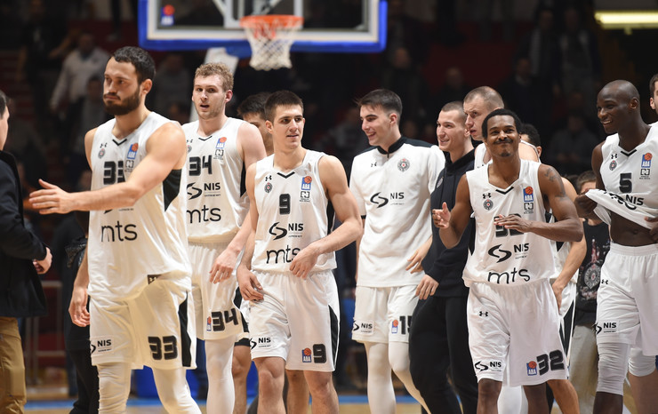 KK Partizan, KK Mornar