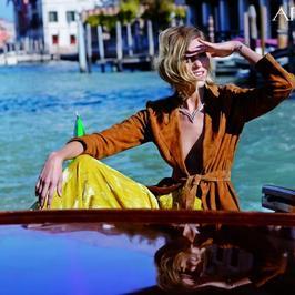 Zmysłowa Anja Rubik w kampanii marki Apart. Zobaczcie piękne zdjęcia z Wenecji